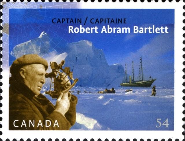 captain-robert-abram-bartlett-canada-stamp