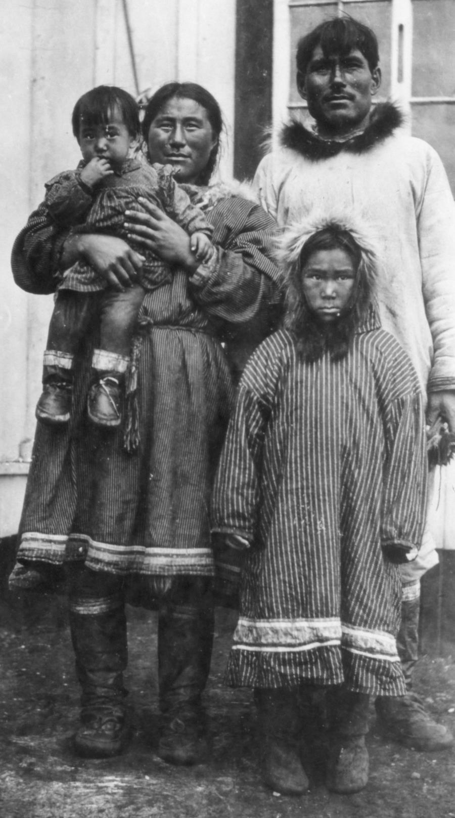 Inupiat family