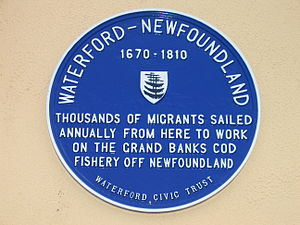 300px-Irish_Newfoundlanders_plaque